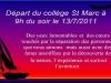 Voyage des élèves de Girard en France (grand