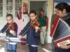 Musique: les élèves jouent l'hymne national